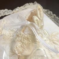 ベビーシューズのリングピロー - 妊婦さんの習い事「  ソーイング セラピー 」と      バッグデザイナーの暮らし
