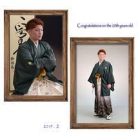 成人の後撮り - 中山写真館のブログです。