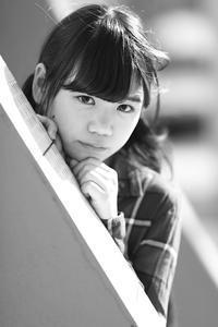 三浦彩楓ちゃん24 - モノクロポートレート写真館