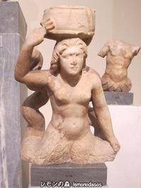 人魚の姿をした女神たちの小像トリトニス複数形はトニトニデス - 日刊ギリシャ檸檬の森 古代都市を行くタイムトラベラー