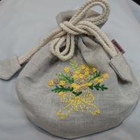 ベトナム刺繍のポーチ - Le Petit Trēsor