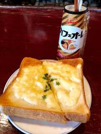 チーズトースト★(^^♪・・・・・お昼ご飯 - 日だまりカフェ