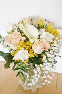 夫の誕生日の花束☆ - ドイツより、素敵なものに囲まれて②