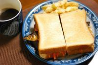 サバの日、焼き鯖サンド。 - 明暮日の茶ばしら・献立帳