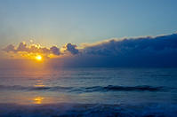 ひさびさの気嵐 - 雲空海