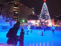 札幌テレビ塔のスケートリンク@真冬の札幌の思い出 - アリスのトリップ