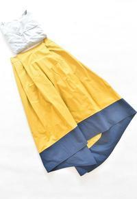 裾切替のスカートが完成しました♫ - 親子お揃いコーデ服omusubi-five(オムスビファイブ)
