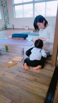 今日3月8日(金)のママ... - emi yoga (エミ ヨガ)始めます(^-^)