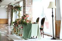 おしゃれなメインテーブル★ - 箱根の森高原教会  WEDDING BLOG