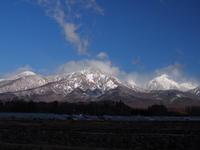 再びの雪化粧 - 八ヶ岳 革 ときどき くるみ