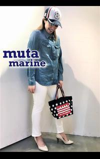 大人気「muta MARINE ムータ マリン」キャンバス トートBAG・CAP入荷です。 - UNIQUE SECOND BLOG
