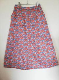 リバティ Clementinaクレメンティナの綿入りティアードスカート - 想いをかたちに・・・