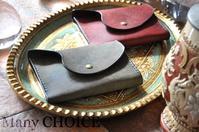 イタリアンレザー・プエブロ・ミニマム財布・時を刻む革小物 - 時を刻む革小物 Many CHOICE~ 使い手と共に生きるタンニン鞣しの革