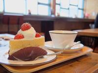 いちごのショートケーキ:ワノワイナリー(鶴田町) - 津軽ジェンヌのcafe日記
