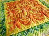 パイナップルのハワイアンキルト - eri-quilt日記3