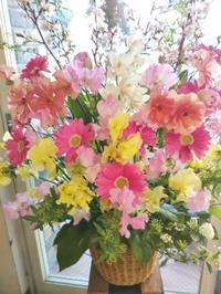 卒園式のお花❗️ - ブランシュのはなたち