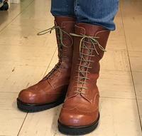 ファスナー付きブーツ - 手づくり靴 仄仄工房(ホノボノコウボウ)