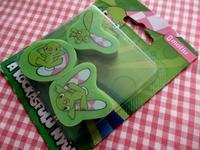 チェッカー耳ウサギの消しゴム - Der Liebling ~蚤の市フリークの雑貨手帖3冊目~