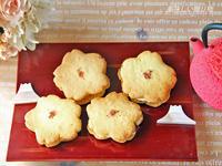桜型のバターサンド - 美味しい贈り物