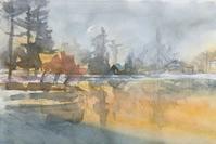 朝靄の蓼科湖 - ryuuの手習い