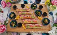 彩り押し寿司の春レッスン - 自分カルテRで思考の整理を~整理収納レッスン in 三重