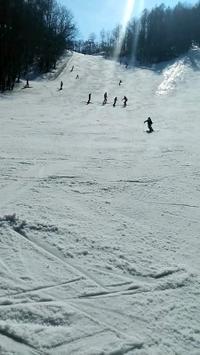 息子のスキースクールが終了しました。 - ささやかな刺繍生活
