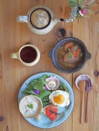 オレンジ皿ワンプレート - 陶器通販・益子焼 雑貨手作り陶器のサイトショップ 木のねのブログ