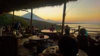 '18年版 Blue Earth Village Restaurant 夕景記録 @ Jemeluk, Amed ('18年春&秋) - 道楽のススメ