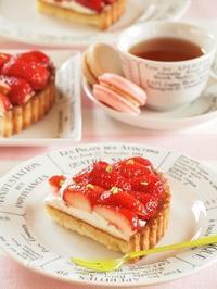 苺スイーツ~4月のレッスンメニューより - お菓子教室コンフォタブルより~スイーツのある生活