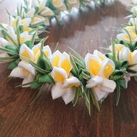 White Plumeria - ♡リボンレイと日々のこと♡