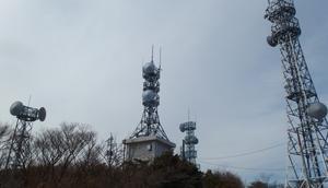 西鳳翩山で移動運用 - 無線日和