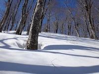 三方岩岳前衛峰1586m - blog版 がおろ亭