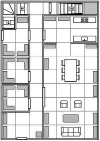 【クトゥルフ神話TRPG】悪霊の家…の間取り - セメタリープライム2