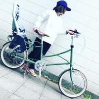 2019Newモデル alohaloco アロハロコ 「HALEIWAハレイワ」20インチ ミニベロ 子供乗せ自転車 チャイルドシート yepp おしゃれ自転車 オシャレ自転車 - サイクルショップ『リピト・イシュタール』 スタッフのあれこれそれ