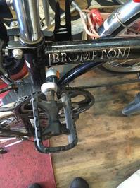 ブロンプトン!クランク修理ですが、、、 - 自転車屋 TRIPBIKE