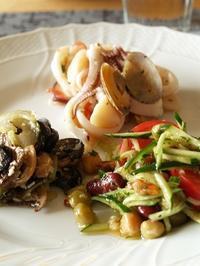 白ワインに合うイタリアンサラダ3種 - シニョーラKAYOのイタリアンな生活