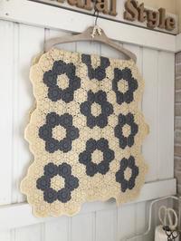 Wool100%ヘキサゴンブランケット* - Natural style*