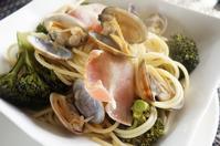 ■【浅利とブロッコリーのスープパスタ】蒸し鍋上下活用で簡単!美味しく♪ - 「料理と趣味の部屋」