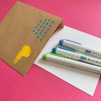 雨の日のペンの色は - シロリス