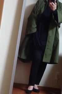 新しいカーキのコート - おしゃれ自己満足日記