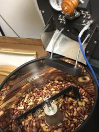 落花生を自家焙煎する - お茶の水調理研究所