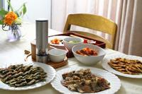 チヂミ3種と参鶏湯 - 登志子のキッチン