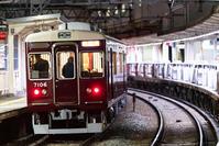 (( へ(へ゜ω゜)へ< 阪急7000系7006F京とれいん雅洛深夜試運転 - 鉄道ばっかのブログ