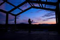 2011年8月11日南三陸町志津川の夕景 - 一人の読者との対話