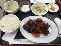 B定食「黒酢鶏肉」@北京樓(多摩) - よく飲むオバチャン☆本日のメニュー