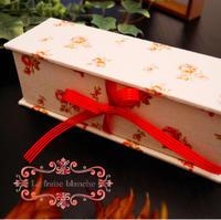 『BOOK型の小物入れ』 - カルトナージュ教室 ~ La fraise blanche ~