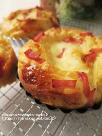 チーズパン(おかずパン) - nanako*sweets-cafe♪