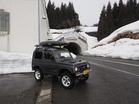 2019.03.05 新潟も雪が少なかった ジムニー日本一周65日目 - ジムニーとピカソ(カプチーノ、A4とスカルペル)で旅に出よう