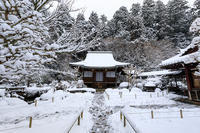 雪の京都寂光院・白銀の世界 - 花景色-K.W.C. PhotoBlog