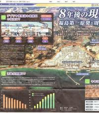 8年後の現場は今福島第一原発と周辺地域/ 東京新聞 - 瀬戸の風
